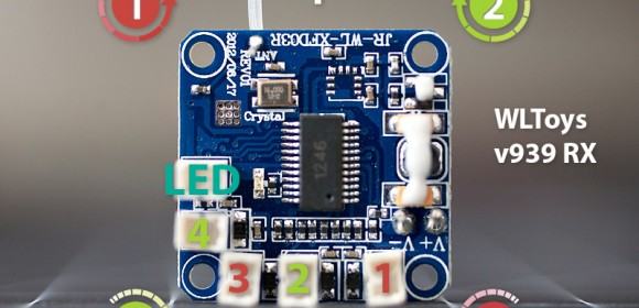 WLToys v939 Flight Controller