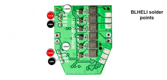 HiSky HCP100S BLHeli Brushless ESC