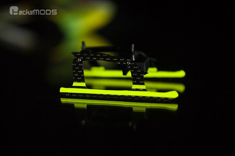 Nano CP X Goblin Inspired Carbon Fiber Landing Skids