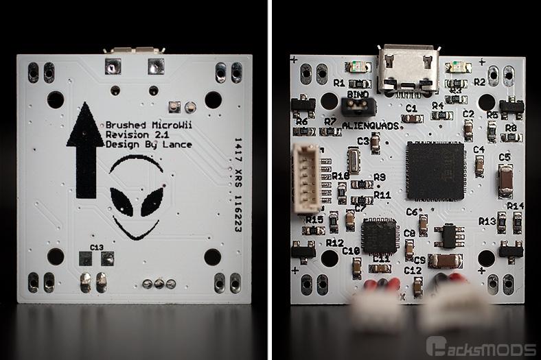 AlienWii Brushed Flight Controller