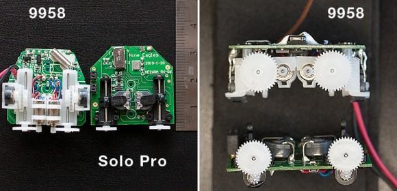 Xieda 9958 RX versus Solo Pro RX