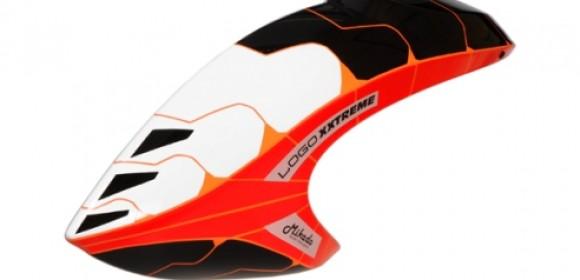 "Blade Nano CP X ""Logo XXtreme"" Paper Canopy Orange/White/Black"